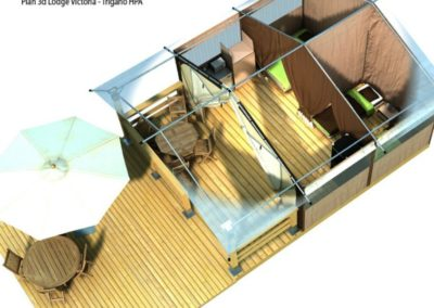 Plan 3d Lodge Victoria Trigano Hpa 2